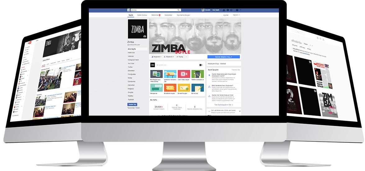 zımba sosyal medya